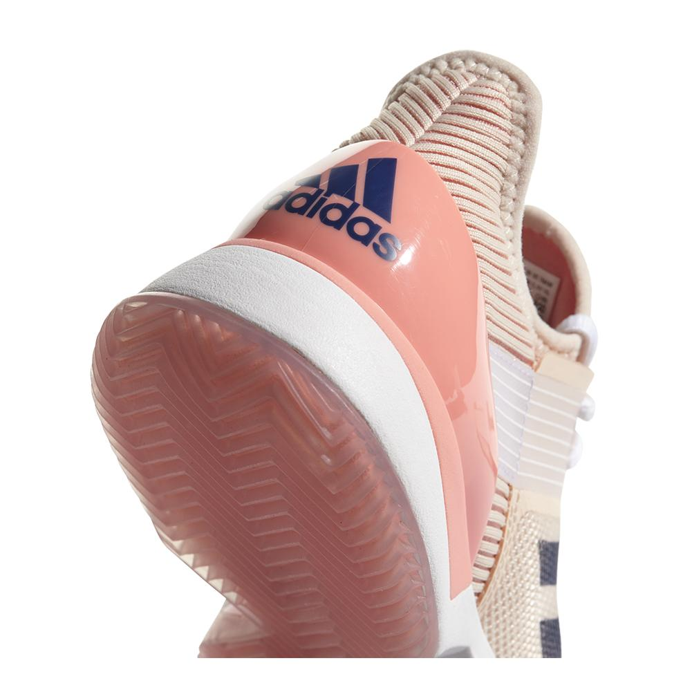 check out 94f3b 3f9f2 ADIDAS ADIDAS Womens Adizero Ubersonic 3 Clay Tennis Shoes Ecru Tint And  Noble Indigo. Zoom. Hover to zoom click to enlarge. 360 View