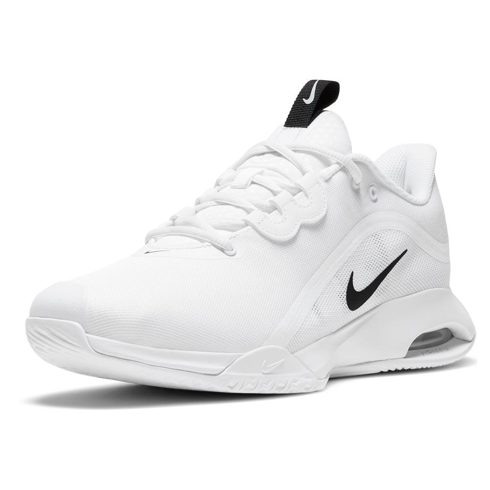 Men's Air Max Volley Tennis Shoes White And Black
