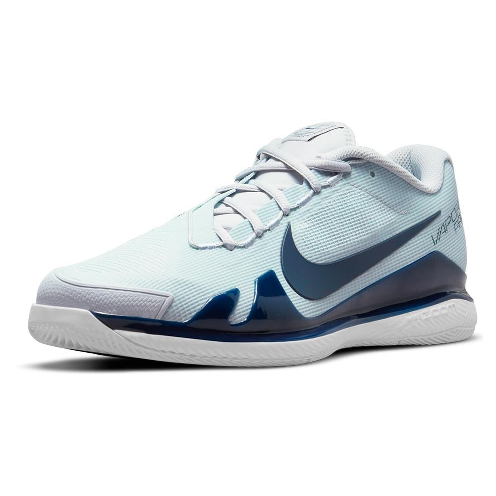 Men's Air Zoom Vapor Pro Hard Court Tennis Shoes Pure Platinum And Obsidian