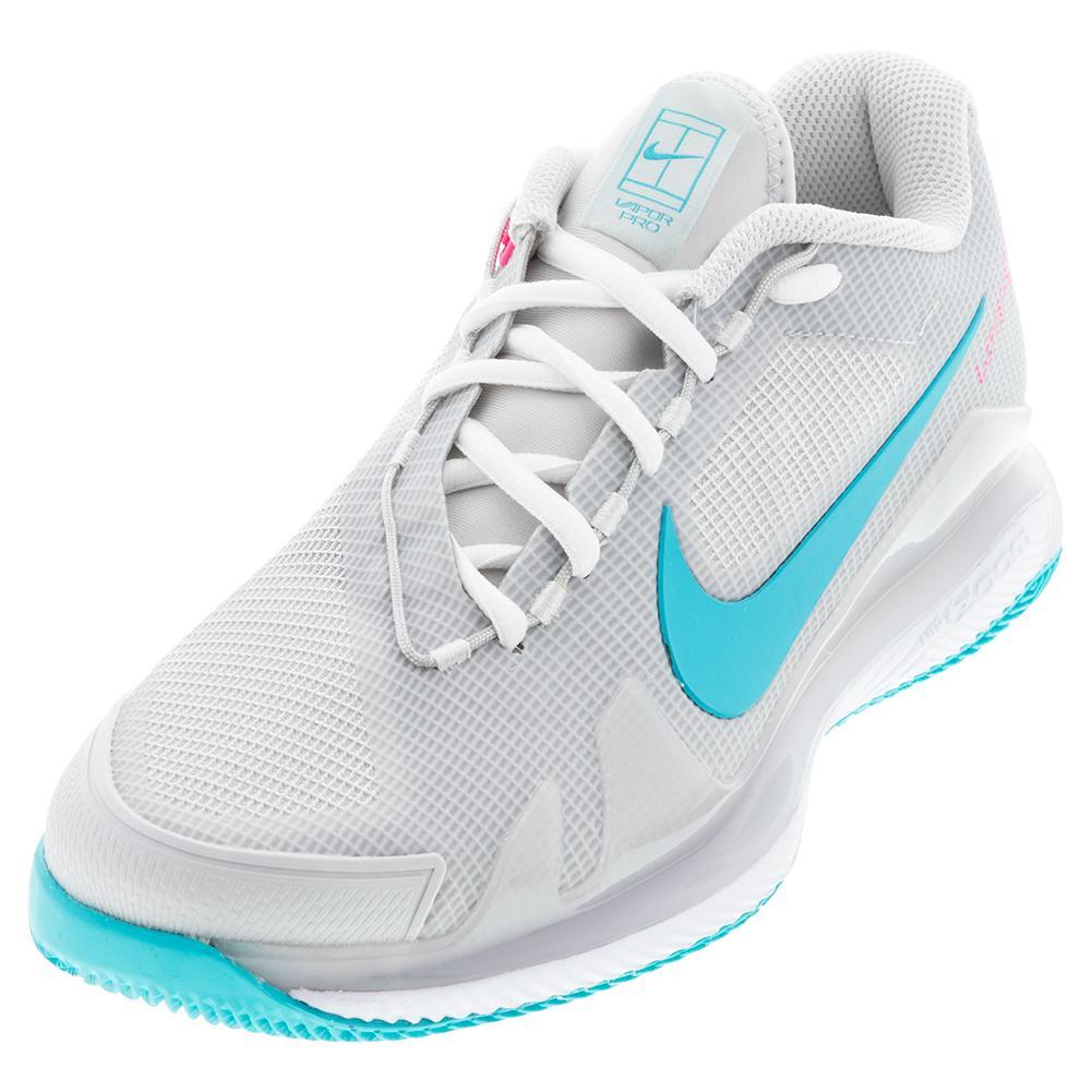 Men's Air Zoom Vapor Pro Tennis Shoes Photon Dust And Chlorine Blue