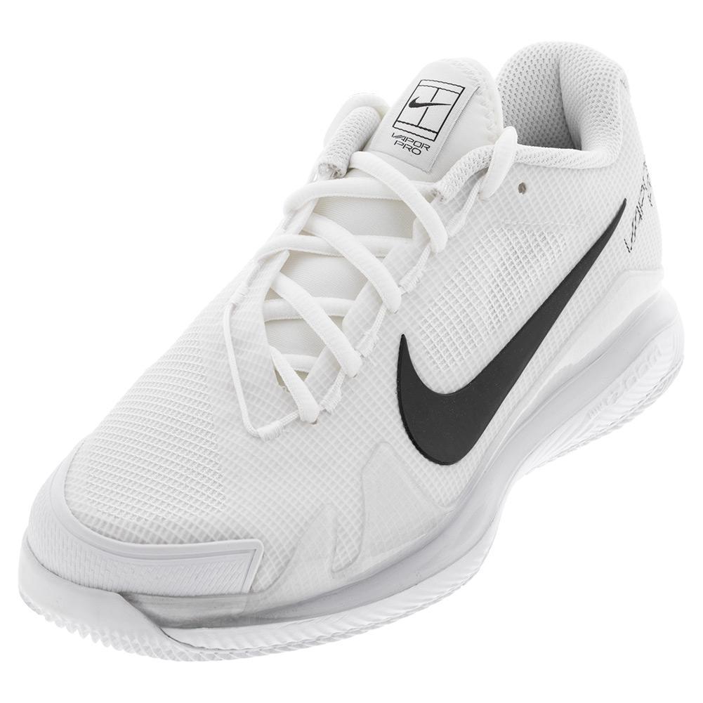 Men's Air Zoom Vapor Pro Tennis Shoes White And Black