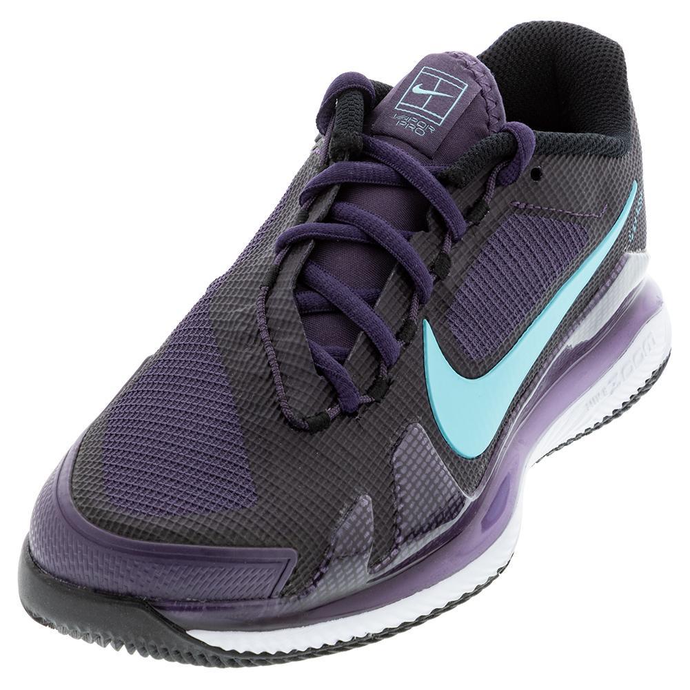 Women's Air Zoom Vapor Pro Tennis Shoes Dark Raisin And Copa