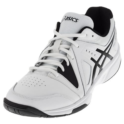 Men's Gel- Gamepoint Tennis Shoes White And Black