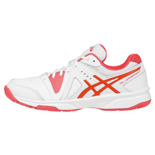 Women's Gel- Gamepoint Tennis Shoes White And Diva Pink