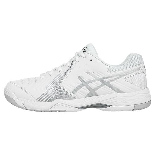 Men's Gel- Game 6 Tennis Shoes White And Silver
