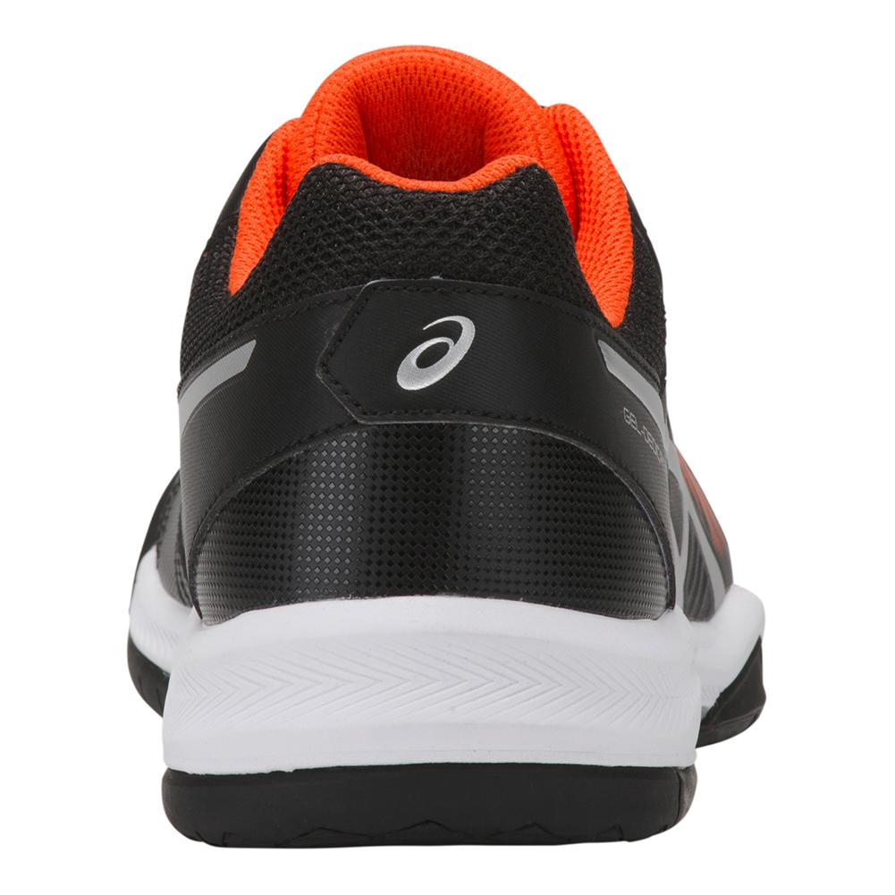 the latest 0549e 7a572 Men s Gel- Dedicate 5 Tennis Shoes Black And Silver. Hover to zoom click to  enlarge. 360 View
