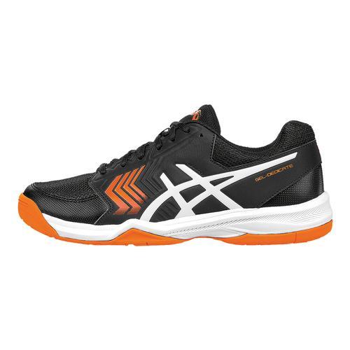 Men's Gel- Dedicate 5 Tennis Shoes Black And White
