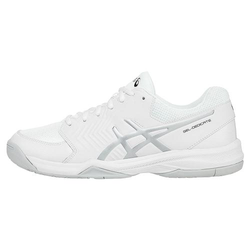 Men's Gel- Dedicate 5 Tennis Shoes White And Silver