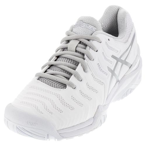 72f20a31d32b ASICS Women`s Gel-Resolution 7 Tennis Shoes