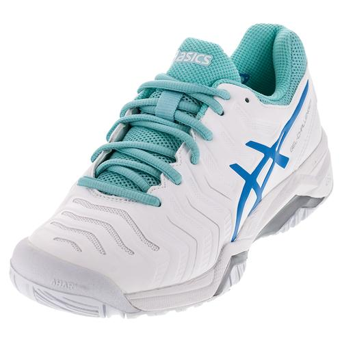 Women's Gel- Challenger 11 Tennis Shoes White And Diva Blue