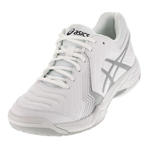Women's Gel- Game 6 Tennis Shoes White And Silver