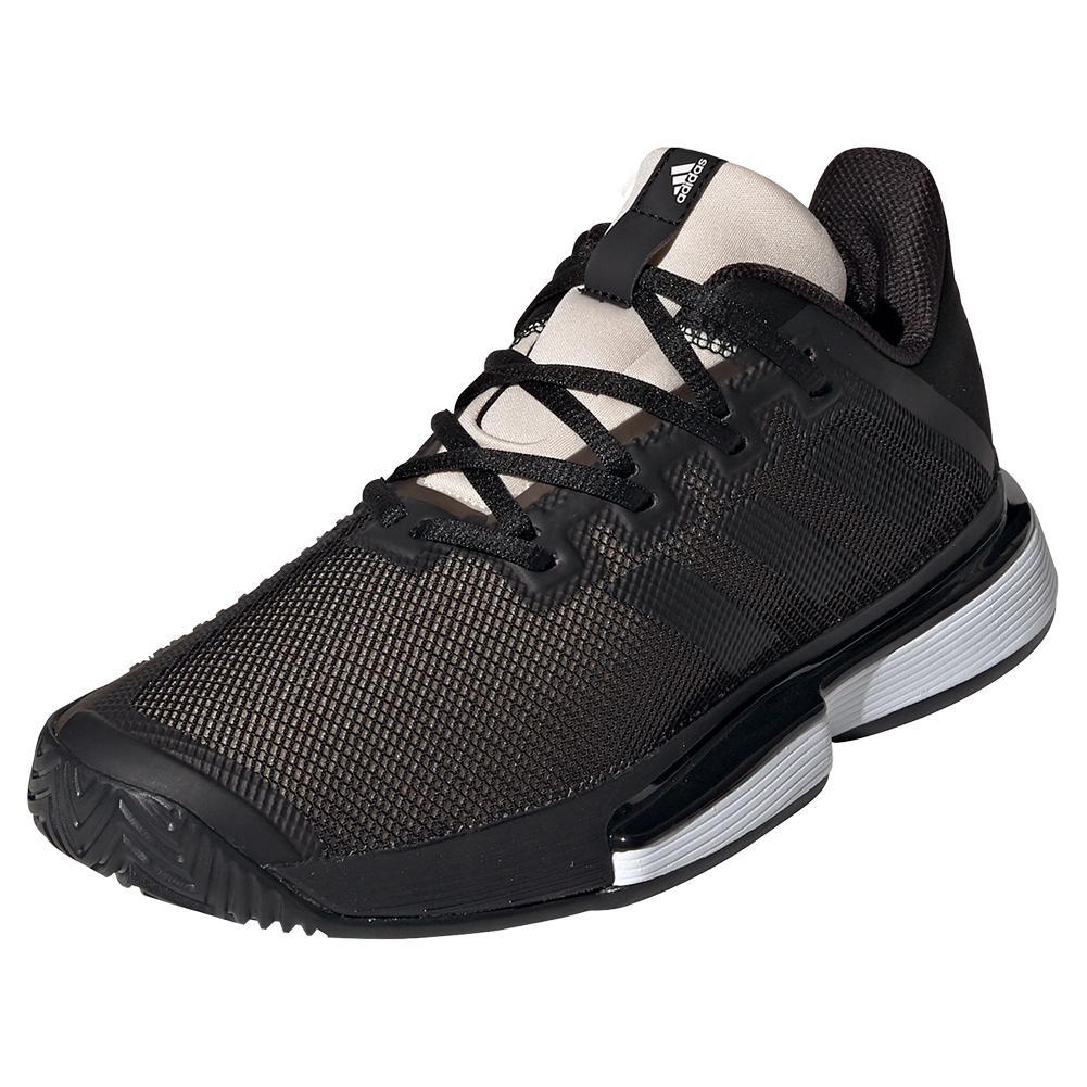 Women's Solematch Bounce Tennis Shoes Core Black And Linen