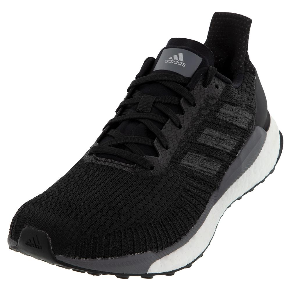 Men's Solar Boost 19 Running Shoes Core Black And Carbon