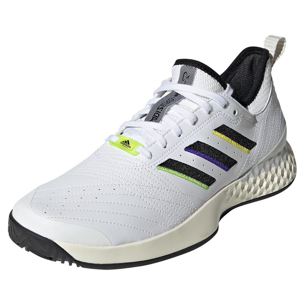 Men's Adizero Edberg Ubersonic 3 Tennis Shoes White And Cream