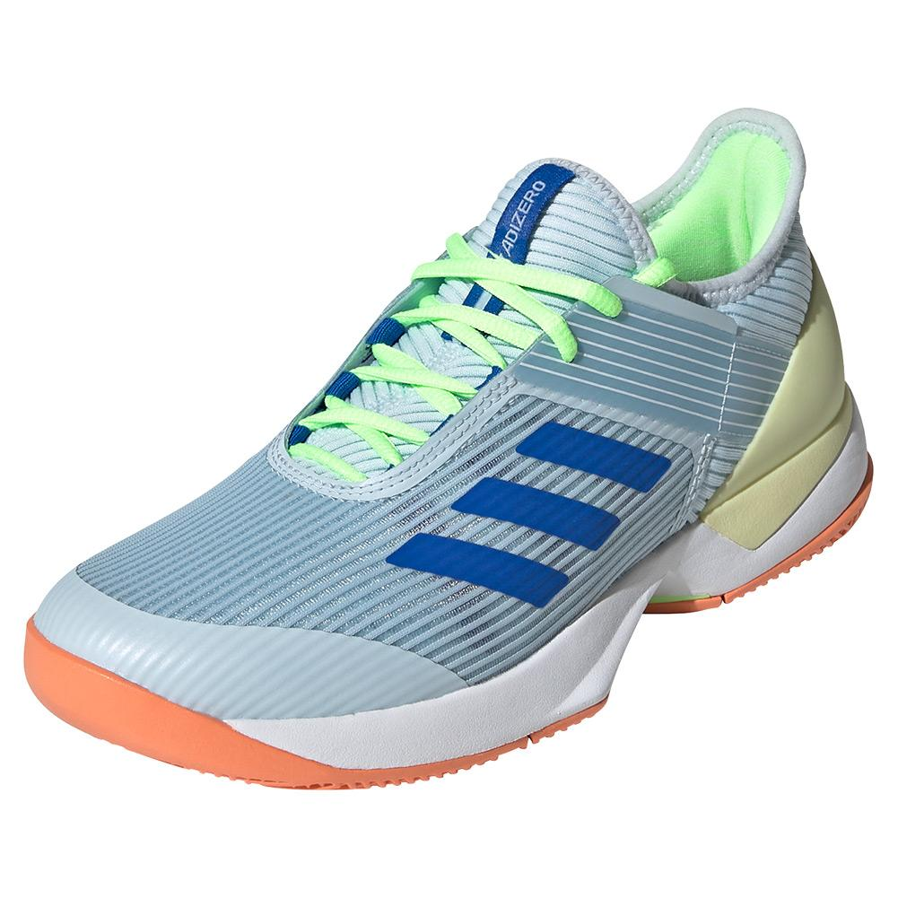 Women's Adizero Ubersonic 3 Tennis Shoes Sky Tint And Glory Blue