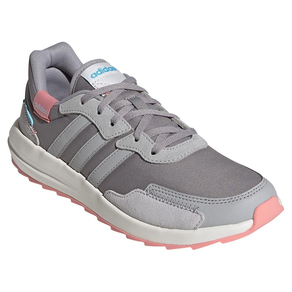Women's Retro Run Shoes Light Granite And Gray Two