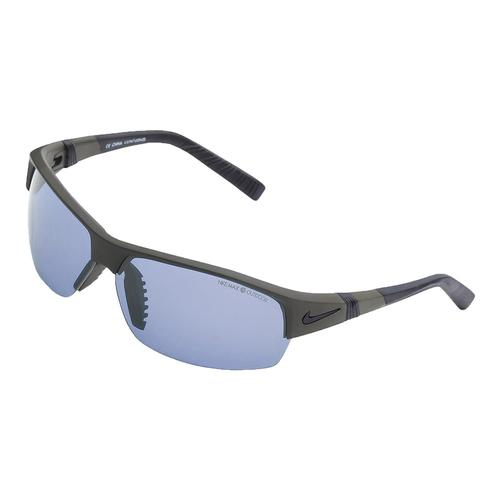 nike show x2 ph sunglasses in metallic pewter