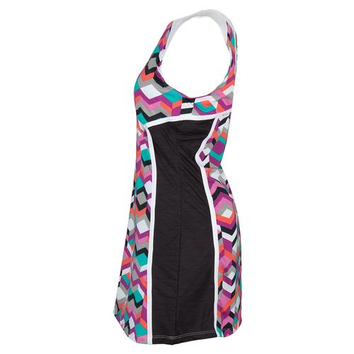 ELEVEN Women`s Miami Tennis Dress Ndebele Print
