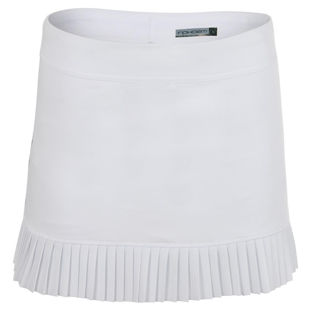 Women's Harper Tennis Skort White And Black