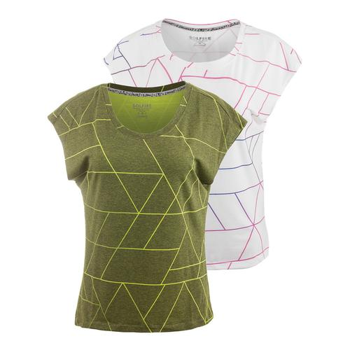 Women's Grand Tangram Tennis Tee