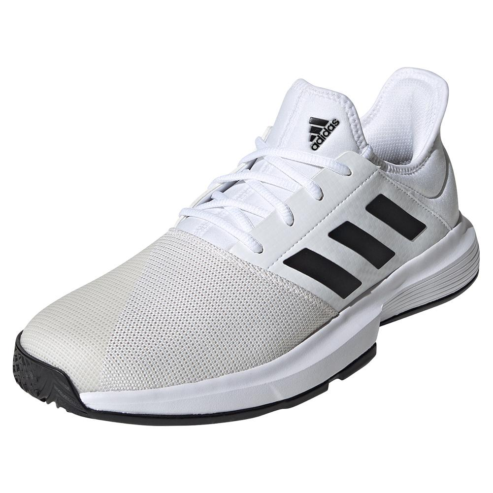Men's Gamecourt Tennis Shoes White And Black