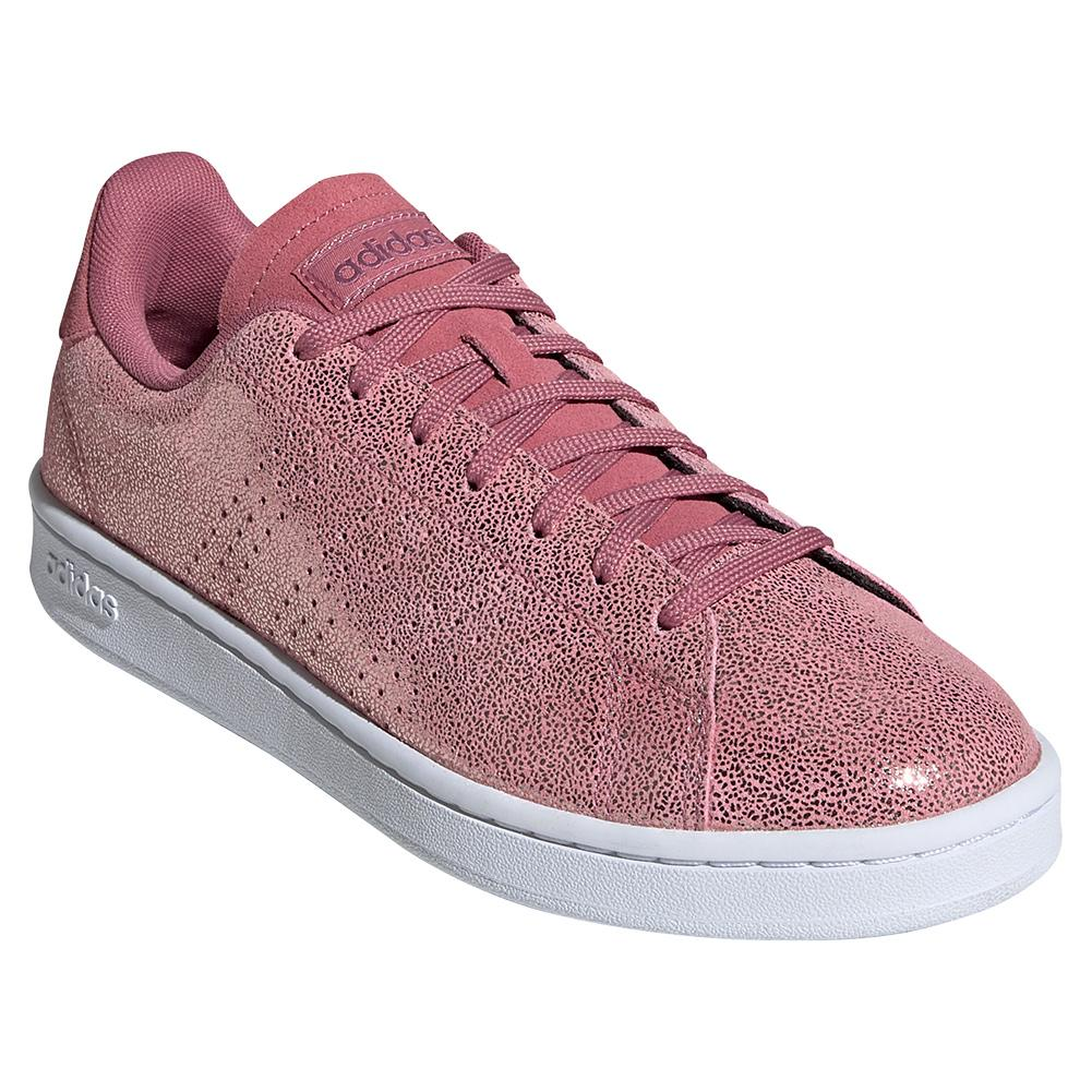 Women's Advantage Tennis Shoes Trace Moon And Cherry Metallic