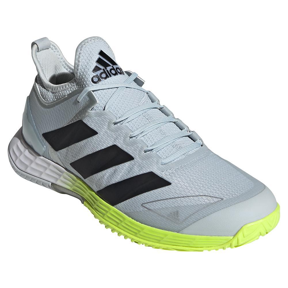 Men's Adizero Ubersonic 4 Tennis Shoes Footwear White And Core Black