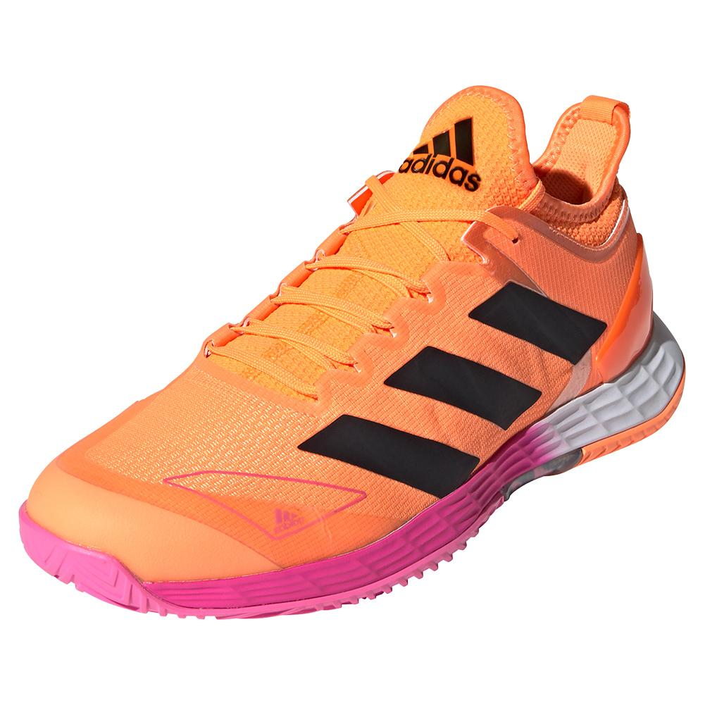 Men's Adizero Ubersonic 4 Mia.Pulco Tennis Shoes Screaming Orange And Core Black