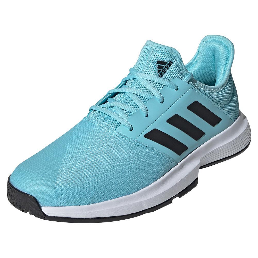 Men's Gamecourt Tennis Shoes Hazy Sky And Core Black