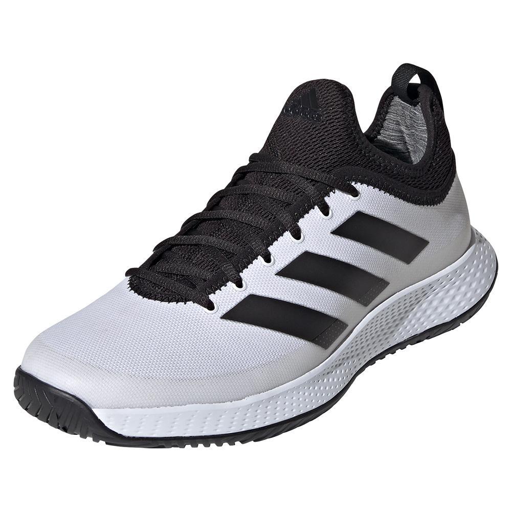 Men's Defiant Generation Tennis Shoes White And Black