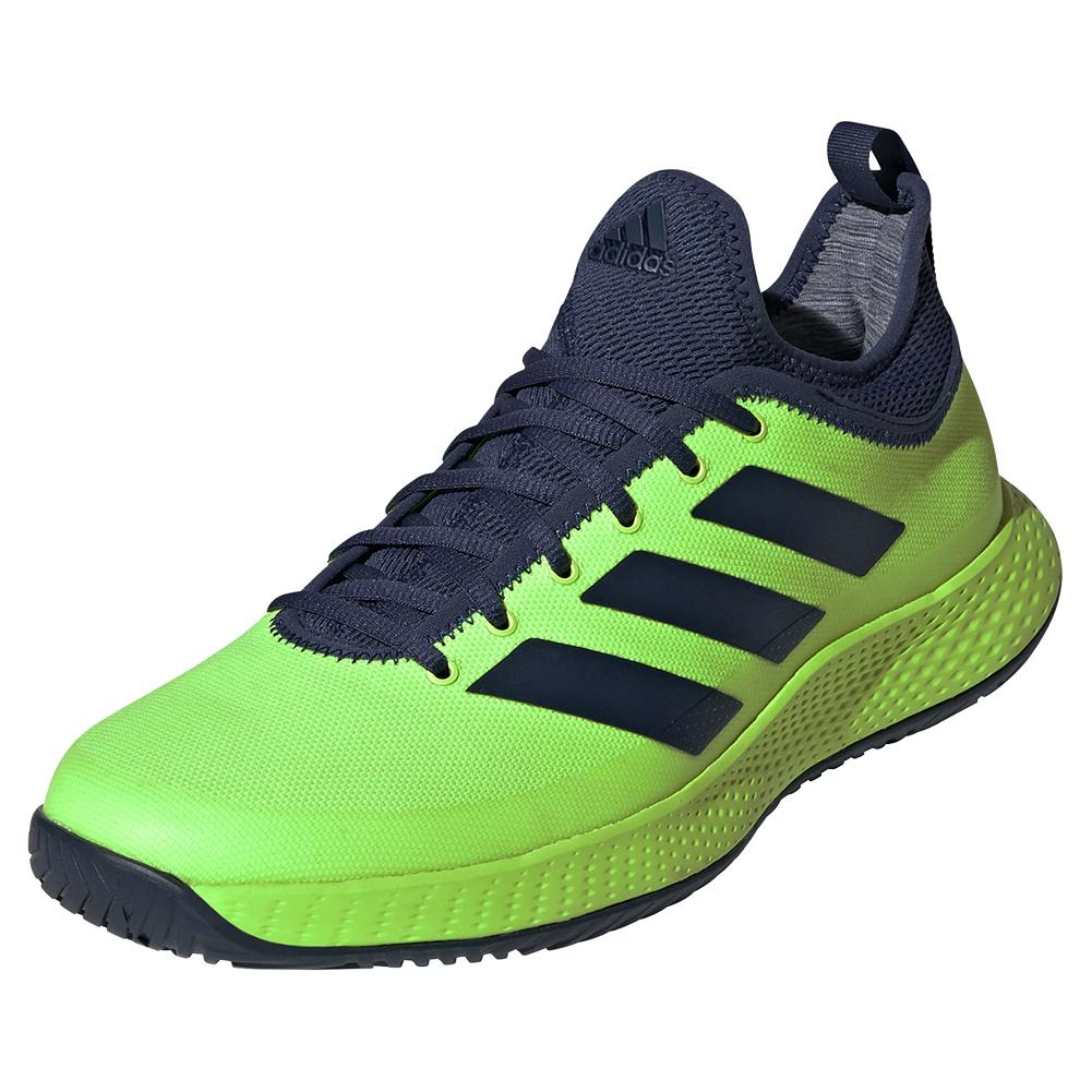 Men's Defiant Generation Tennis Shoes Signal Green And Tech Indigo