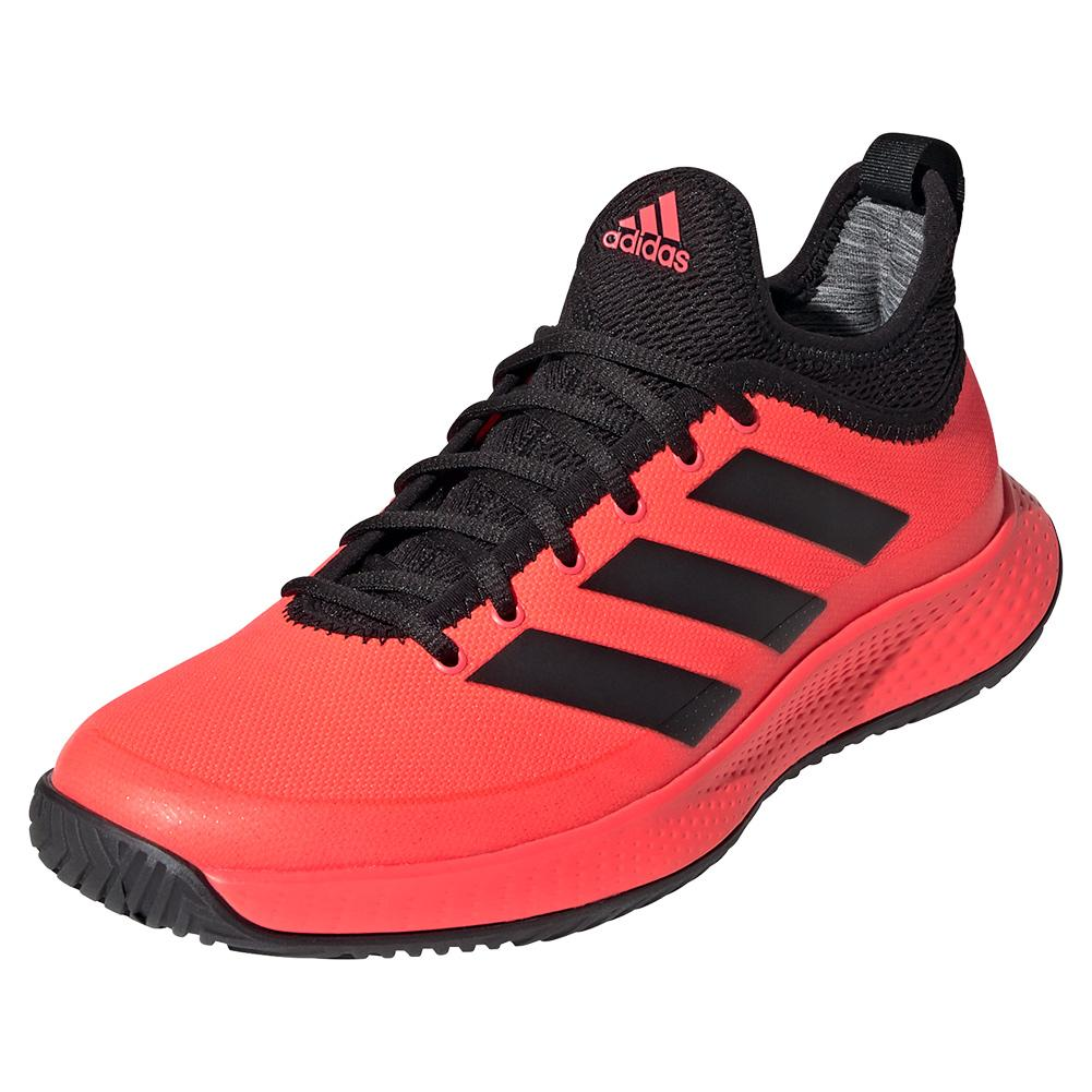 Women's Defiant Generation Tennis Shoes Signal Pink And Black