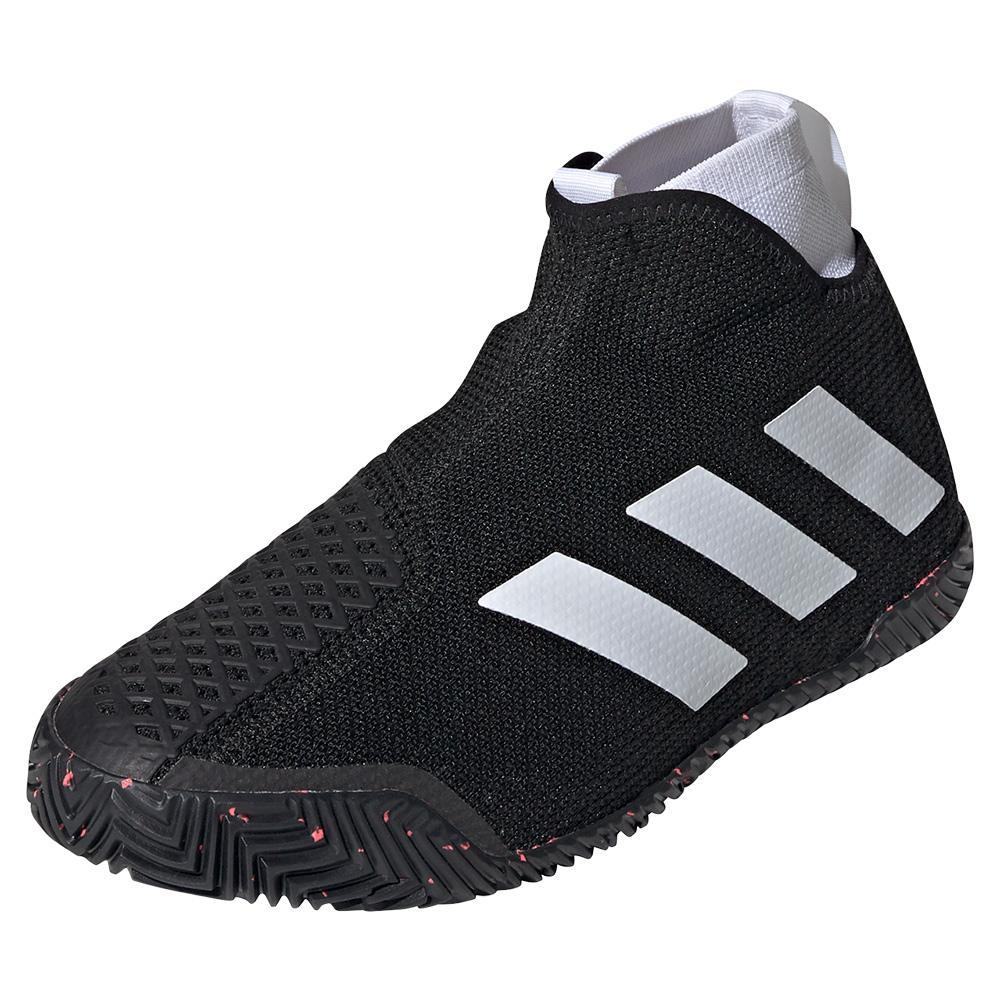 Men's Stycon Tennis Shoes Black And White