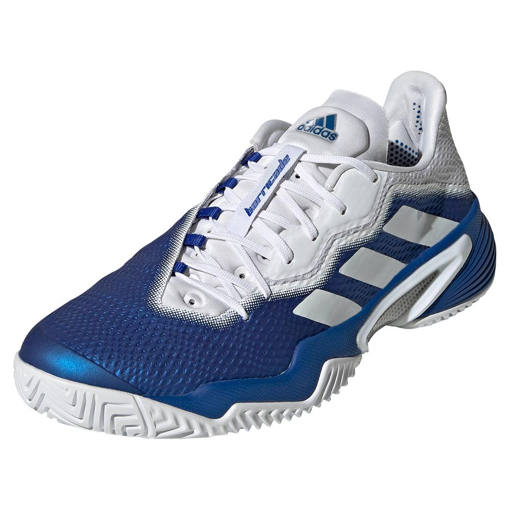 Men's Barricade Tennis Shoes Team Royal Blue And White
