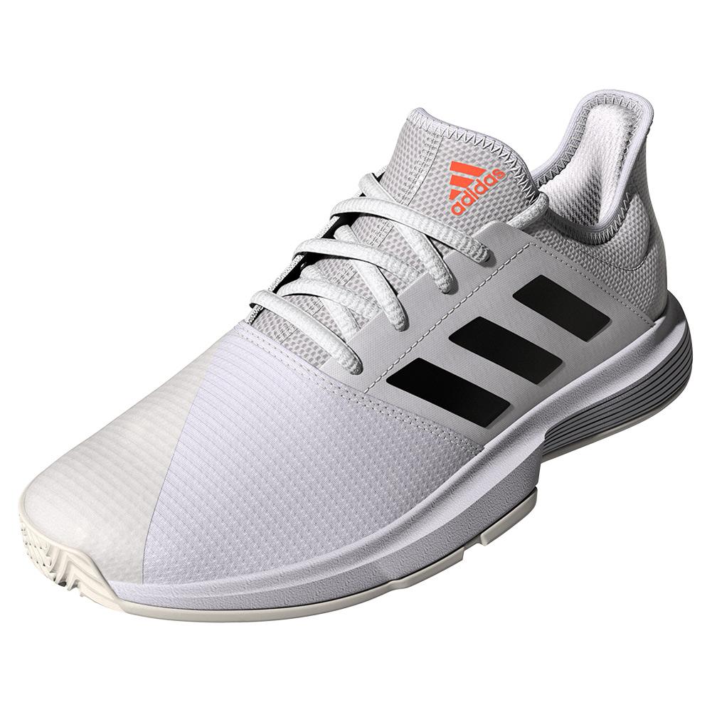 Women's Gamecourt Tennis Shoes White And Core Black