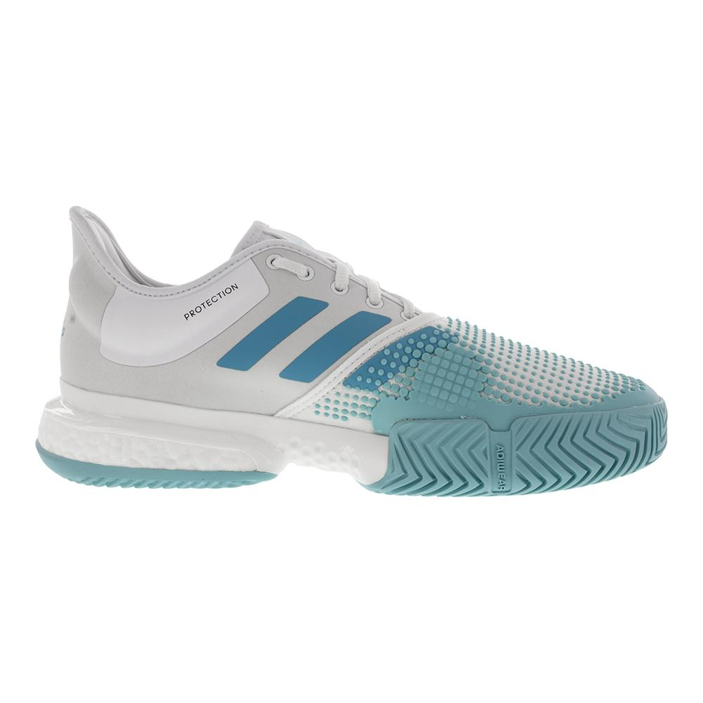 7578ebecacf adidas Men s SoleCourt Boost Parley Tennis Shoes