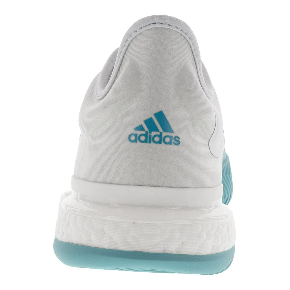 arrives 89995 61655 ADIDAS ADIDAS Mens Solecourt Boost Parley Tennis Shoes White And Vapour  Blue. Zoom. Hover to zoom click to enlarge. 360 View