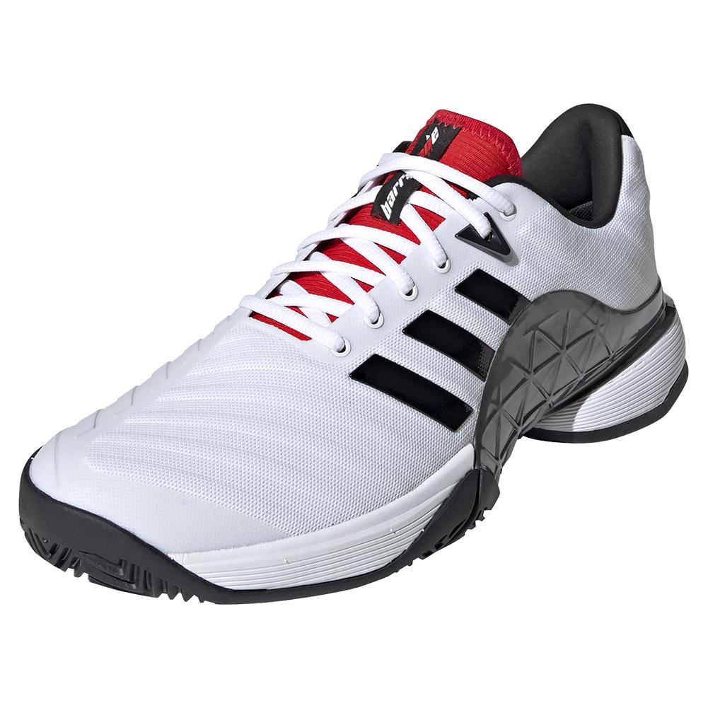 adidas men's barricade 2018 boost tennis shoes off 78% - www ...