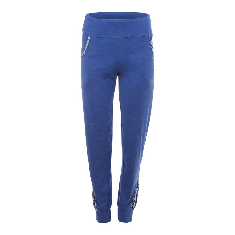 Women's On- Track Tennis Pant Baja Blue
