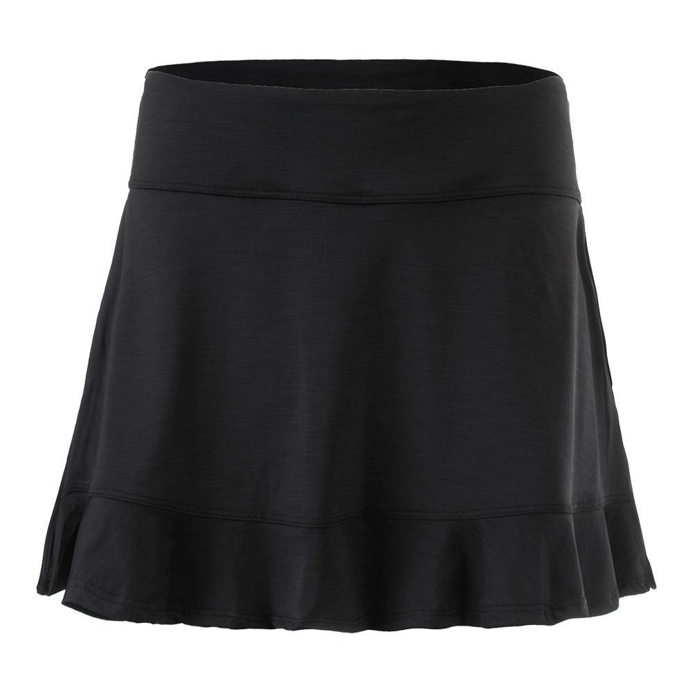 Women's 14 Inch Jammin Tennis Skirt Black