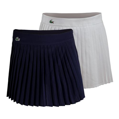 Women's Technical Solid Pleated Tennis Skirt