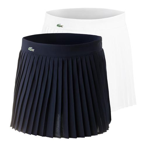 Women's Tech Solid Pleated 13.5 Inch Tennis Skirt