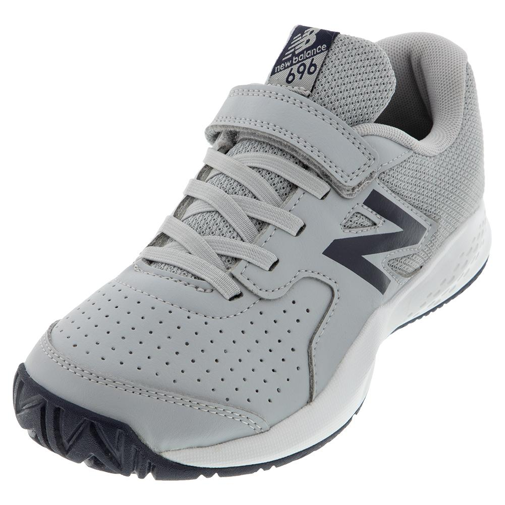 Juniors ` 696v3 Tennis Shoes Aluminum And Pigment