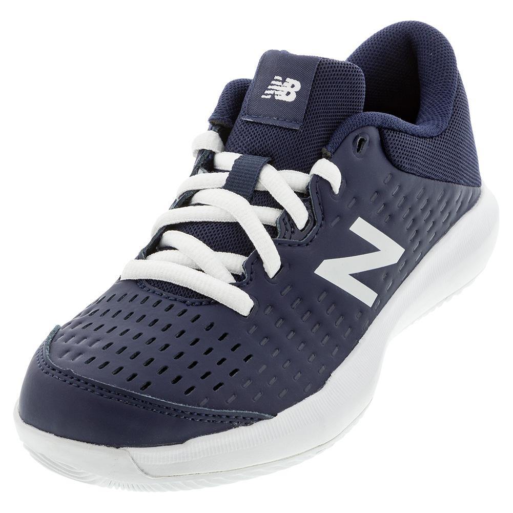 Juniors ` 696v4 Tennis Shoes Navy And White