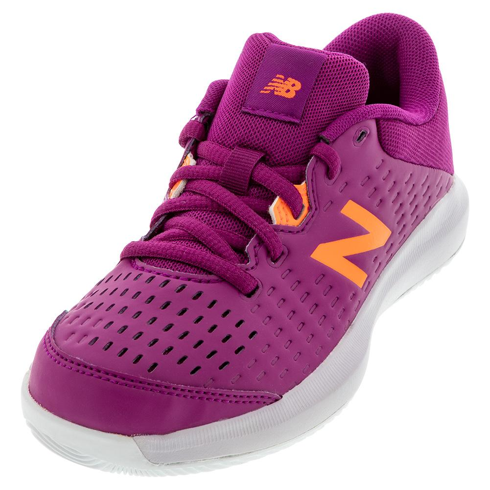 Juniors ` 696v4 Tennis Shoes Mulberry And Thistle