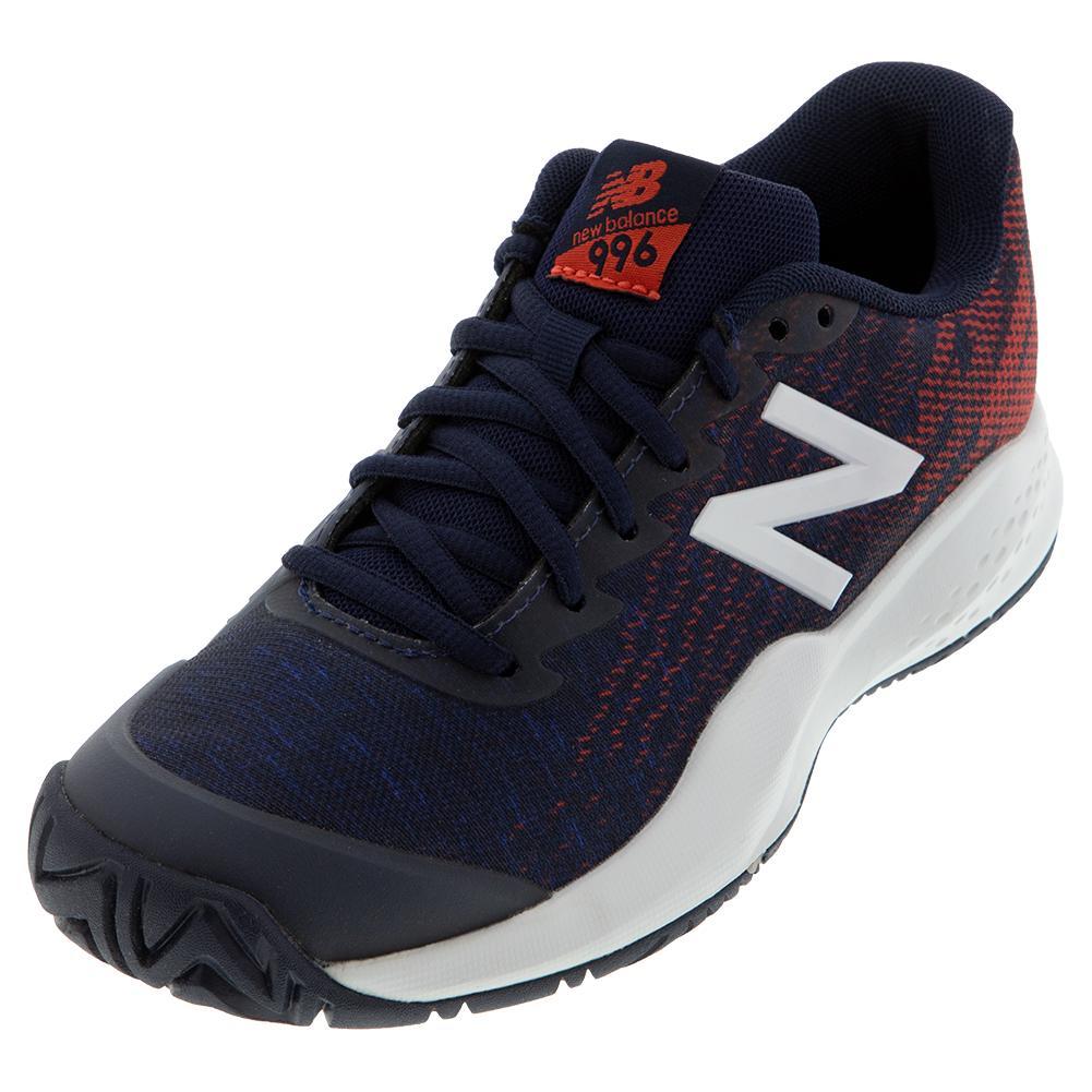 Juniors ` 996v3 Tennis Shoes Pigment And Multi