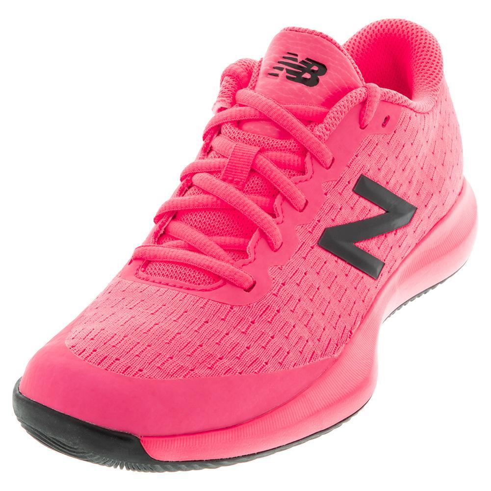Juniors ` 996v4 Tennis Shoes Sulphur Guava And Peony