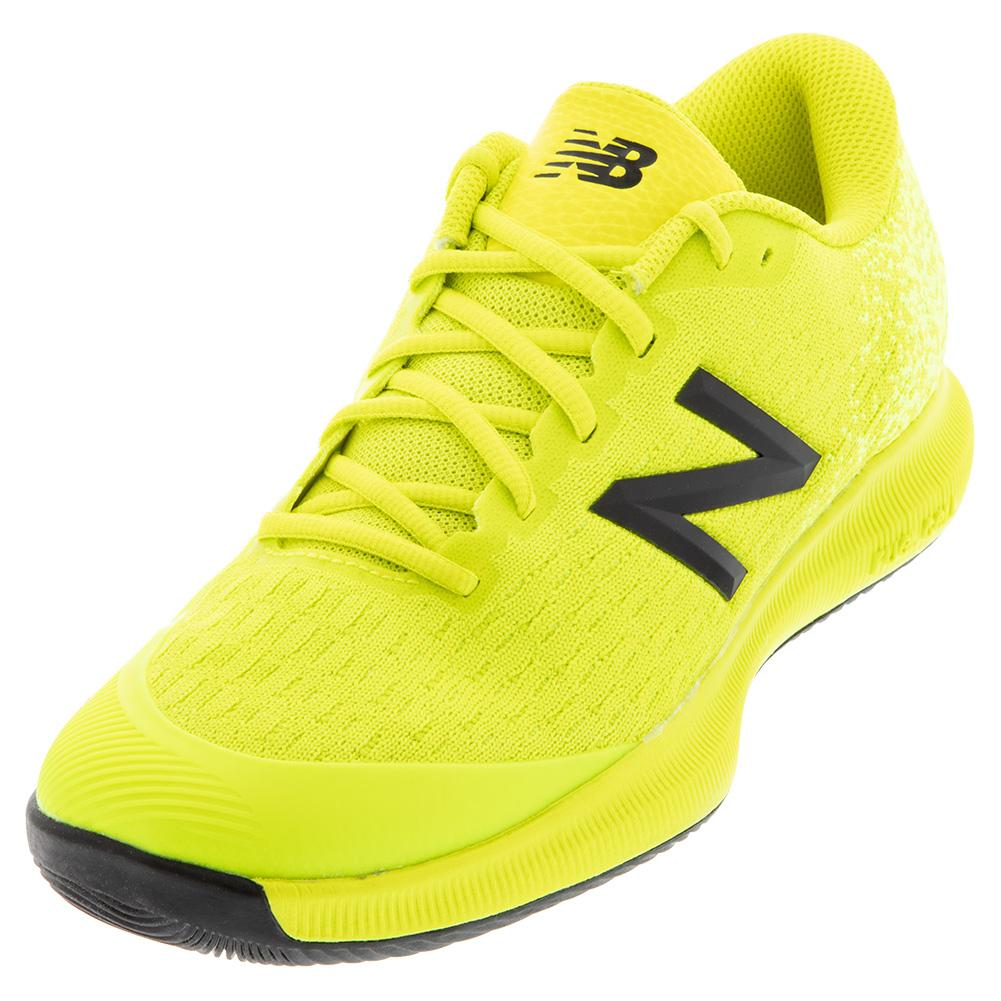 Juniors ` 996v4 Tennis Shoes Sulphur Yellow And Lemon Slush