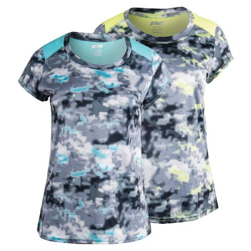 Women's Short Sleeve Interlock Tennis Top