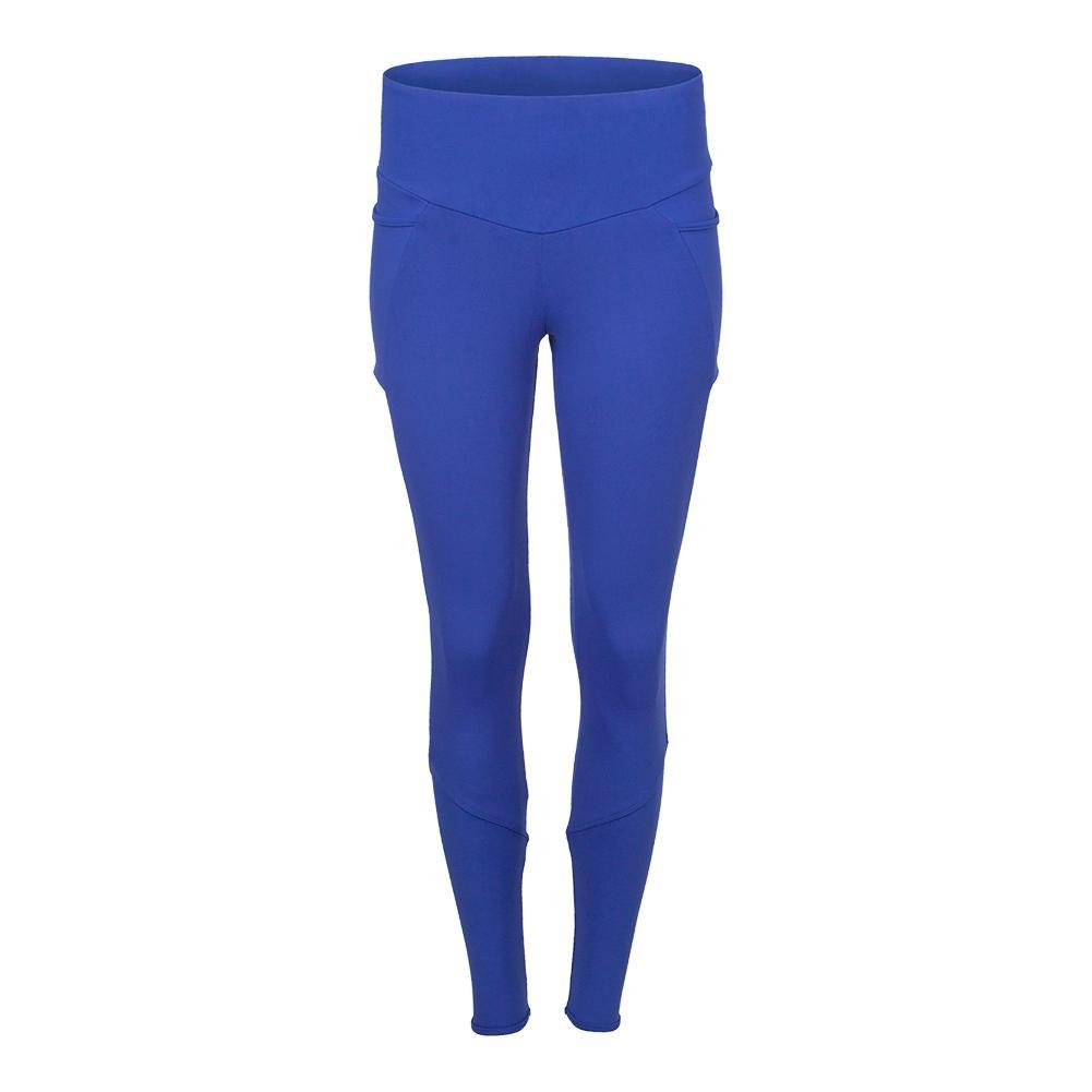 Women's Tennis Legging Atlantic Blue
